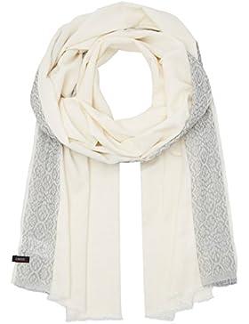 CINQUE Damen Schal Cibaila Weiß (Weiß 01), One Size (Herstellergröße: 0)