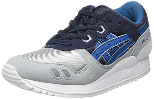 Asics Gel-Lyte Iii Ps, Chaussures Mixte Enfant Bleu (India Ink/Sea Port)