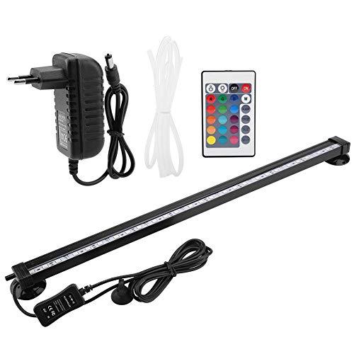 TOPINCN - Luce LED Subacquea per Acquario, con Telecomando, Cambia Colore manualmente, 46 cm