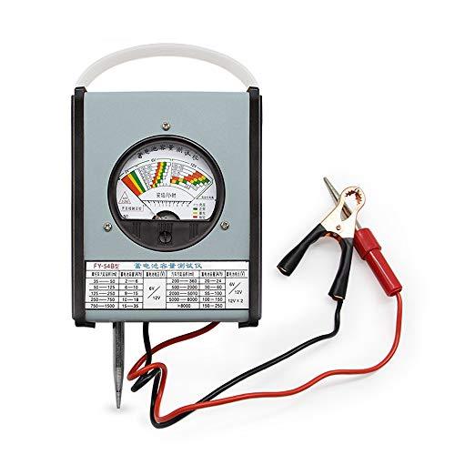 W.Z.H.H.H Elektronischer Multimeter FY-54B Batteriekapazität Meter Auto Elektrofahrzeuge Batterie Tester Batteriekapazität Detektor 2 V 6 V 12 V 2-250 Ah