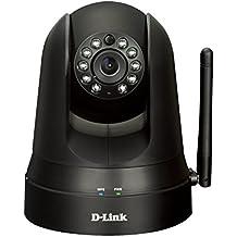 D-Link DCS-5010L - Cámara de videovigilancia IP 360º WiFi, negro