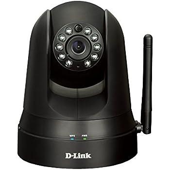 D-Link DCS-5010L Videocamera di Sorveglianza, Motorizzata, Wi-Fi N, Notifiche Push per iPhone/iPad/Smartphone, Compatibile con App Mydlinkhome