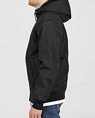 Carhartt Hooded Sail Jacket Black Broken White von Carhartt - Outdoor Shop