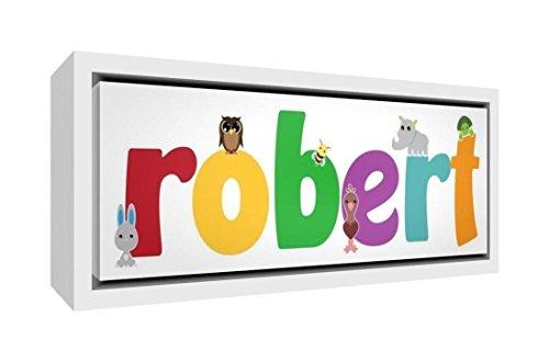 Little Helper Napperon avec Coaster Style Illustratif Coloré avec le Nom de Jeune Garçon Tiago
