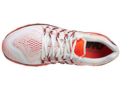 Nike Air Max 2015, Scarpe da Corsa da Uomo WHITE/BRIGHT CRIMSON-BLACK