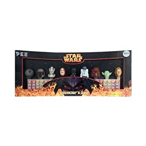 Star Wars Limited Edition PEZ Collector's Set with 9 Star Wars PEZ Dispensers by PEZ (English Manual)