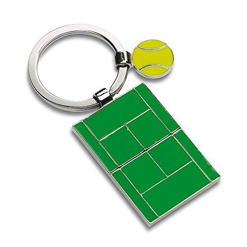 Porte-clefs terrain de tennis