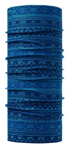 Original Buff 115204.739.10.00 Tubular de Microfibra, Hombre, Azul, Talla Única