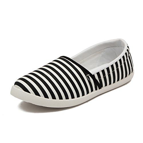 Asian Shoes Women's Black Casual Shoes-5Uk/Indian