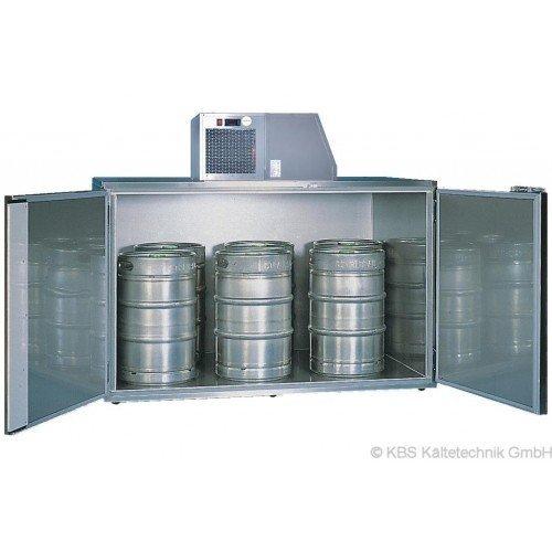 KBS Fasskühler-Gehäuse Fk 6 - für 6 Fässer - ohne Maschinenaufsatz