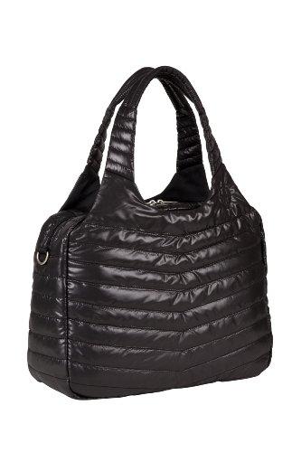 Lässig Glam Global Bag POP Wickeltasche/Babytasche inkl. Wickelzubehör, black