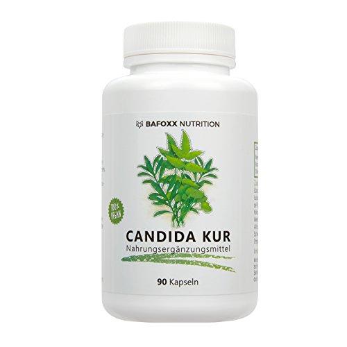 CANDIDA KUR 90 Kapseln - Hochdosiertes Naturprodukt zur Unterstützung einer Anti Candida Albicans Diät - vegan - hergestellt in Deutschland (im Monatsvorrat)