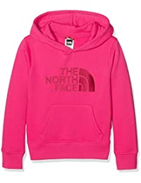 North Face Y DREW PEAK PLV HD - Sudadera, color rosa, talla S