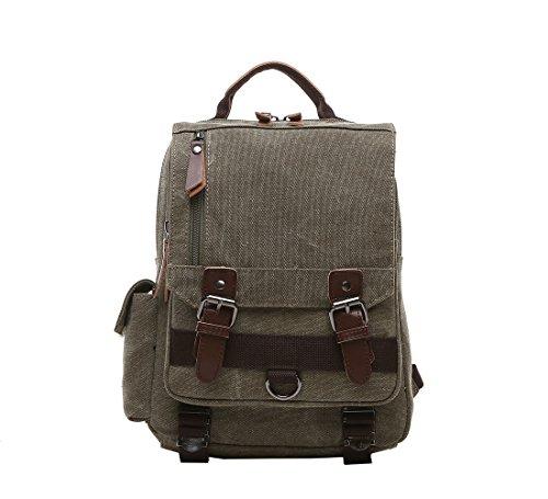 Outdoor Canvas Umhängetasche Unbalance Rucksack, Sling Bag , Reißverschlusstasche Brusttasche Cross bag für Laufen, Jogging, Wandern, Radfahren Grau