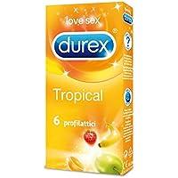 Durex Tropical Kondome, 6 Stück preisvergleich bei billige-tabletten.eu