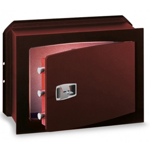 CASSAFORTE A MURO INCASSO TECHNOMAX MASTER KEY CON CHIAVE A DOPPIA MAPPA-270X390X200 MM
