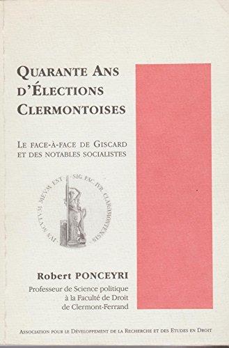Quarante ans d'élections clermontoises