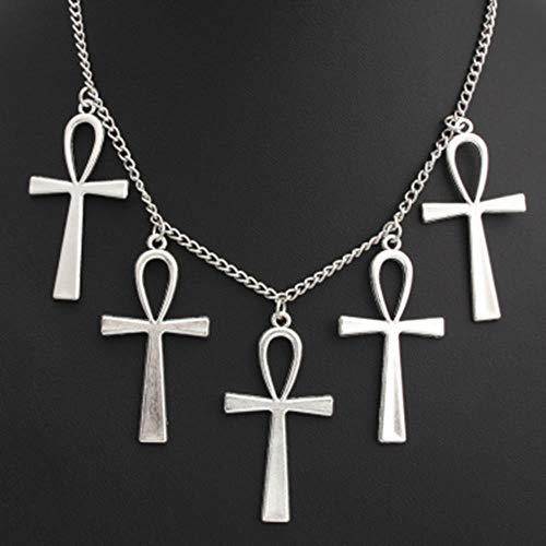 KLKL Kochmesser Anhänger Männer Küchenmesser Schmuck Für Halloween Halskette Frauen Schmuck Zink-Legierung