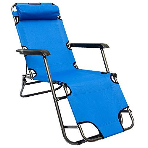 Strandliege Beach Carry Liegestuhl Campingliege Gartenliege Campingstuhl