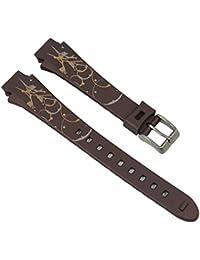 Uhrenarmband Kunststoff Band braun 16mm passend zu Calypso Watches K5624/C K5624