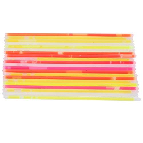 25xGlowstick Fluoreszierende Armband mit Stecker Festliche Partei Geburtstag Leuchtet Kind Spielzeug