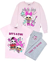 Conjunto de 3 Piezas por suéter, Camiseta y Leggings LOL Surprise Dolls