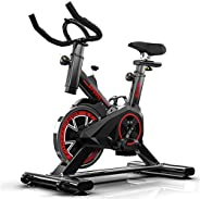 Multifunctional Exercise Bike, Solid And Stable, With Lcd Display, Easy To Move, Comfortable Non-Slip Handle,