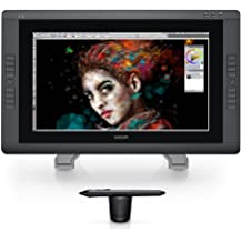 Wacom DTH-2200 Cintiq 22HD 54,6 cm (21,5 Zoll) Touch-Monitor (Kontrast 900:1, 14ms Reaktionszeit)