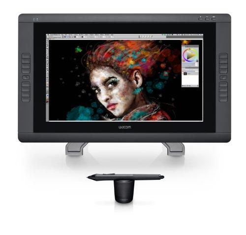 Wacom DTH-2200 Cintiq 22HD 54,6 cm (21,5 Zoll) Touch-Monitor (Kontrast 900:1, 14ms...