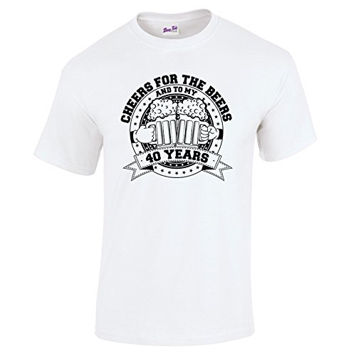 BANG TIDY CLOTHING Mens 40th Birthday T Shirt