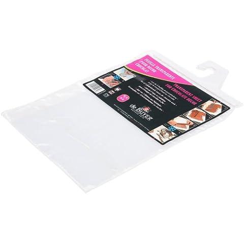 De Buyer 42032 - Hojas de polietileno para decorar con chocolate (polietileno, 5 unidades)