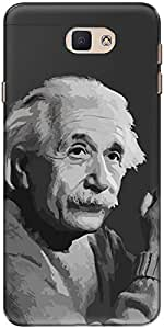 The Racoon Grip Albert Einstein hard plastic printed back case/cover for Samsung Galaxy J7 Prime