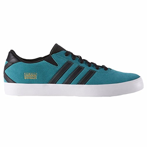 adidas Originals Gonz Pro Men's Skate Shoes (F37404) (EQT Green / Core Black / Footwear White) (UK 9 / EU 43 1/3 / US 9.5) (Adidas Originals Skate)