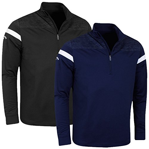 Callaway Golf 2017 Mens LS Heathered Knit Thermal Pullover