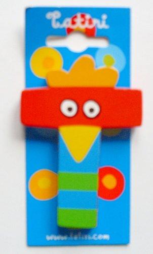 """Tatiri 72029 Holzbuchstabe""""crazy bird - T"""", 7 cm"""