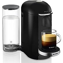 Krups YY2779FD Machine à Café Nespresso Vertuo + Plus Capsules Espresso Lungo Mug Alto Noir