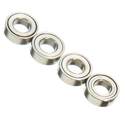 Lange Zeit Drehlager Schmuck Rotation Ring Kugellager Tamiya 4WD 681XZZ Lager, 3x6x2 mm, 4 (Drei Sechs Null)