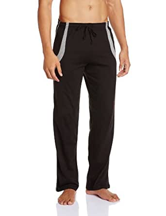 Hanes Men's Cotton Lounge Pant (8907036834079_MPP11-002-CP_XX-large_Jt.Blk)