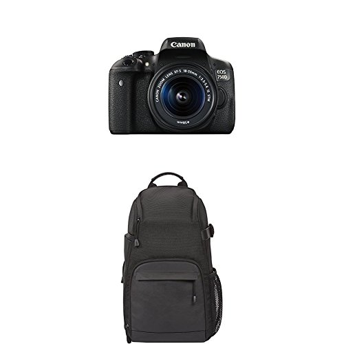 Top Canon EOS 750D with 18-55mm lens and sling bag Online