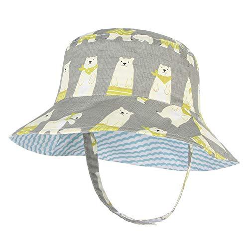 HUOLIMAO Schöne Sonnencreme Jungen Mädchen Eimer Hut Reversible Baumwolle Bob Caps Sommer Herbst Fischer Panama Hüte -