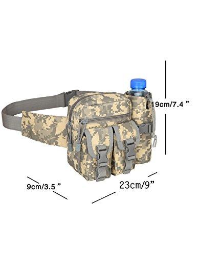 Menschwear Outdoor multiuso tattico Pouch Utility Gadget cintura marsupio Camuffare 2 Camuffare 4
