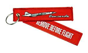 Porte Clés Remove Before Flight Concorde