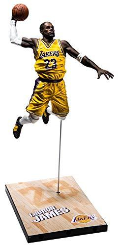separation shoes 82ef3 19690 NBA 2K19 McFarlane Lebron James Figur 20th Anniversary Edition Actionfigur