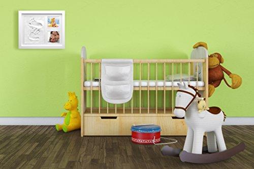 cadre pour photos et empreintes de main et de pied de b b par babysimba le cadeau souvenir. Black Bedroom Furniture Sets. Home Design Ideas