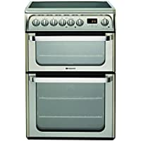 Hotpoint HUE61XS Electric Ceramic Cooker (Stainless Steel)