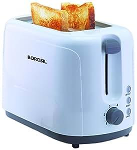 Borosil BTO750WPW11 750-Watt Krispy Pop-up Toaster (White)