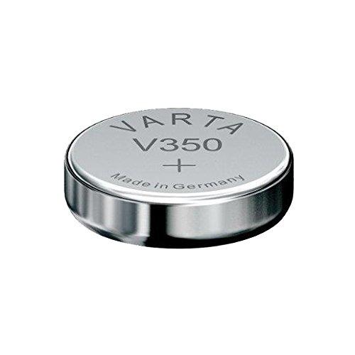 Varta 350101111 - Pila Oxido de Plata, Plateada
