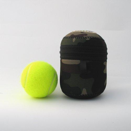 The Dicky Bag Hundekottasche, Extra klein, grün Camo. geruchsdicht, Blumenmuster, Violett &Geknüpft aus Kunststoff (Camo Violett)