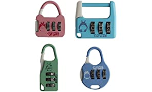 Tootpado Metal Combination Lock 3 Digit Padlock Number Locks for Bags Luggage Locks