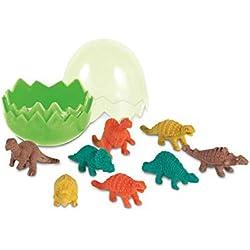 8 Piezas dinosaurio novedad Forma Borradores Set-partido de los niños del bolso de goma Papelería lápiz